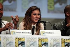 Nina Dobrev (Gage Skidmore) Tags: california michael san key comic cops lets diego center rob convention be keegan nina damon con 2014 wayans riggle dobrev