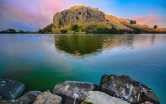 Dunsapie Loch (Perspective) (Photography Revamp) Tags: lake reflection edinburgh unitedkingdom loch hdr dunsapieloch