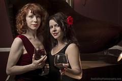 Jazz in the City 3 (fsm vpggru) Tags: girls music sexy canon jane duo redrose smooth piano rosa jazz grand redhead 5d reddress mk3 2470 strobist jazzinthecity 5d3 rosaullmann
