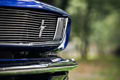 Mustang (R.K_photography) Tags: red horse usa ford chevrolet up car nikon shoot power camino muscle automotive el bleu american mustang pick v8 d90