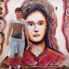 Rosto (Augustin de Lassus) Tags: augustindelassus arte art jurerêopenshopping jurerêinternacional jurerê stephanie loop florianópolis santacatarina brasil brazil