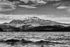 Loch Lomond - Ben Lomond (AdMaths) Tags: adammathesonphotography adammatheson landscape lumixfz150 lumix lochlomondnationalpark lochlomond loch lochs water waves benlomond mountain munro nationalpark naturallight mono monochrome blackwhite bw blackandwhite panasoniclumixfz150 panasonic dmcfz150 fz150 scotland scottishlandscape scottish scenery scene scottishmountain luss