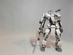 still finish the leg and foot (ruslan_p88) Tags: lego legomoc legomech mech mecha mechwars moc battle suit robot robots