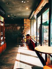 Sunlight (IT农民工) Tags: colorful light color liuzhou bar coffee girl