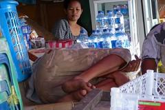 Whose legs? Kota Ambon, Pasar besar, Maluku (Sekitar) Tags: maluku moluccas molukken pulau nusa islands indonesia asia ambon feet pasar besar market sleep rest