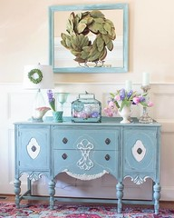 welcoming-spring-foyer-decor (dearlinks) Tags: diy beautiful lavish trends creative home decoration improvement designs projects ideas plans tips inspiration