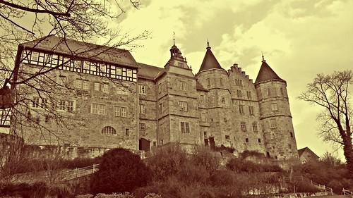 Schloss Bertholdsburg in Schleusingen