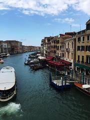 Grand Canal (n!ney) Tags: gondola vaporetti waterbus bridge rialto canal grand venice italy