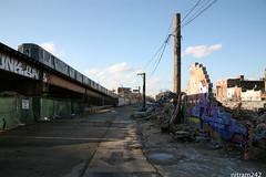 Last Train To MegaMall (nitram242) Tags: abandoned mall chicago demolition megamall logansquare graffiti