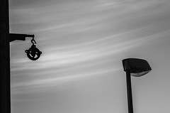 Huffy Siblings (Thomas Listl) Tags: thomaslistl blackandwhite noiretblanc biancoenegro sky clouds fine minimal graphic lantern monochrome