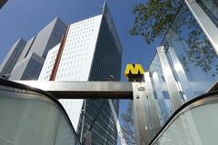 Rotterdam (theo_vermeulen) Tags: rotterdam metro wilhelminaplein