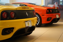 360 Challenges (ChrisF Photography) Tags: ferrari 360 challenge stradale rare sportscar supercar exotic yellow red
