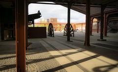 Zeche Zollverein (frankdorgathen) Tags: column lost wideangle abandoned empty industry industrie outdoor zollverein zeche essen ruhrgebiet