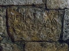 Church of Nativity E4040237_23 (tony.rummery) Tags: bethlehem church em10 inscriptions interior israel mft microfourthirds nativity omd olympus stcatherines wall