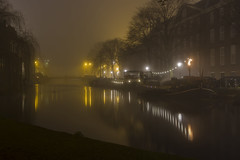 Amsterdam by Night (paulbunt60) Tags: amsterdam night misty mistig nachtfotografie nightphotography