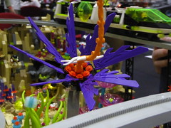 Space Flower (Brett-Tron) Tags: blacktron monorail moc lego alien flower landscape spaceflowers spaceweeds spacelandscape alienworld spaceplants mtron battle