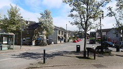 The Square, village centre, Eyam   -   April 2017 (dave_attrill) Tags: the square church st centre 260 deaths eyam derbyshire peak district hope valley 11th century village bubonic plague breakout 1665 rev william mompessom anglo saxon roman lead mining outdoor historic mid 17th cottages cottage april 2017 national park white mines domesday book