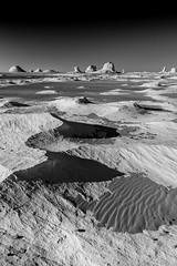White desert, Egypt (pas le matin) Tags: egypt egypte afrique africa landscape desert paysage travel voyage world sahara sand stone sable sec bry dry sandstone limestone whitedesert canon 7d canon7d canoneos7d eos7d blackandwhite noiretblanc nb bw monochrome