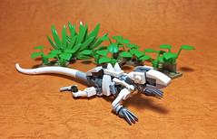 LEGO Mech Lizard-02 (ToyForce 120) Tags: lego robot robots mecha mech mechanic legomech legomoc