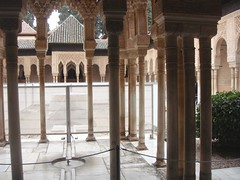Court of the Lions - Alhambra (Rckr88) Tags: alhambra granada spain courtofthelions court lions palace palaces alhambrapalace andalusia andalusiaregion islamic architecture arch arches columns column relic relics ancient