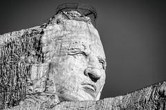 Crazy Horse Memorial, Black Hills, South Dakota (Thomas Hawk) Tags: america blackhills crazyhorse crazyhorsememorial custercounty korczakziolkowski southdakota usa unitedstates unitedstatesofamerica indian sculpture custer us