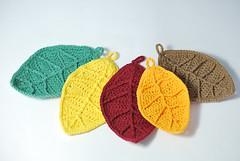 Hojas otoño (La Borda del Crochet) Tags: crochet ganchillo algodón otoño hojas handmade