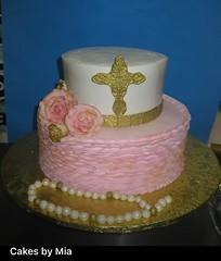 A cake designed by Mia makes a special event more special and memorable.  #Miacakes4U #cake #cakesbymia #baptismcakes #communioncake #christeningcake   #bautizo #ConfirmaciónConfirmación  #communion (cakesbymia) Tags: cakesbymia christeningcake bautizo confirmación communion miacakes4u cake baptismcakes communioncake