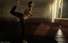 yoga (Morgana Direwytch for GLAM!) Tags: yoga cynfu lowne kustom9 doux lowen