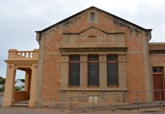 Soldiers' Memorial Hall, Gladstone, South Australia (contemplari1940) Tags: gladstone soldiers memorial hall roll honour sirtombridges governor pirie excelsior band foundation stone
