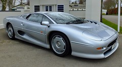 Jaguar XJ220 - Goodwood 75th Members Meeting (PSParrot) Tags: jaguar xj220 goodwood 75th members meeting