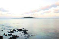 Sunrise (Magryciak) Tags: 2017 auckland newzealand northisland island islandlife haurakigulf trip roadtrip holiday exploring sunrise sun colour morning motionblur longexposure water sea ocean overexposed