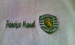 Soporting (leonilde_bernardes) Tags: sporting clube verdes king leões toalhas enxoval presente lembrança gift cadeaux regalo