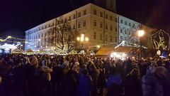 First Hours of New Year in Lviv (tarmo888) Tags: samsunggalaxy s6edge android smartphone geotaggedphoto geosetter sooc photoimage фотоfoto year2017 ukraine україна ukrayina украи́на украина lviv lwów lvov lemberg львів львов leopolis lwow nightshot unesco crowd people