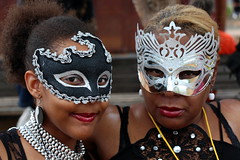 The Masked Duo (Alan1954) Tags: two france caribbean martinique masks women portraits fortdefrance holiday 2015