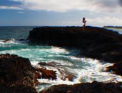 Down To The Sea (coollessons2004) Tags: kauai hawaii pacificocean ocean sea girl woman