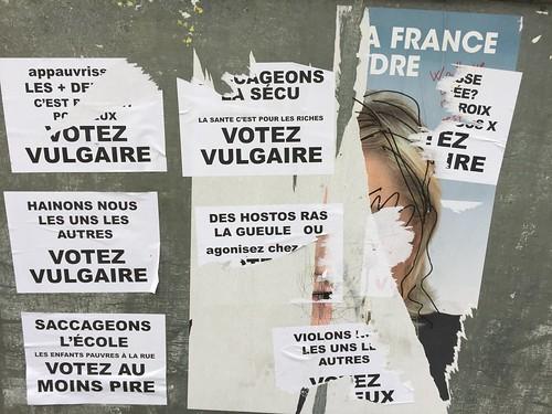 """""""Le Pen - Vote vulgar"""""""