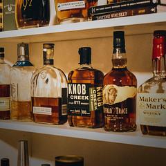The Whiskey Shelf (Austin Hudson) Tags: whiskey shelf drink alcohol