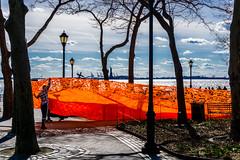 Installation (Chris Protopapas) Tags: newyorkcity art sony installation battery park manhattan harbor liberty