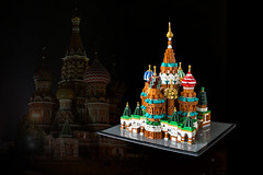 St. Basil's Cathedral, Moscow (roΙΙi) Tags: architecture legoarchitecture lego stbasils moscow russia