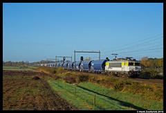 Captrain 1621, Rijssen 29-10-2016 (Henk Zwoferink) Tags: rijssen overijssel nederland nl captrain ct 1621 henk zwoferink graan vtg raillogix