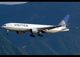 Boeing   777-222/ER   United Airlines   N783UA   Hong Kong   HKG   VHHH