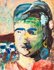 Head of a Woman II (Thomas Hawk) Tags: america california headofawomanii museum richarddiebenkorn sfmoma sanfrancisco sanfranciscomuseumofmodernart usa unitedstates unitedstatesofamerica artmuseum painting fav10