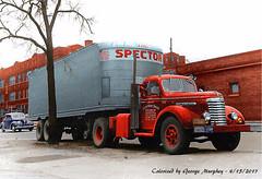 GMC SPECTOR Colorized (gdmey) Tags: gmc gmctrucks colorized semitruck trucks transportation