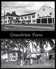 Grandview Farm Then and Now (Explored) (lclower19) Tags: 1452 522017 grandviewfarm burlington massachusetts then now black white bw diptych explored