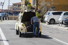 Motor Trouble (Rudi Pauwels) Tags: france cotedazur villefranchesurmer citroen frenchcar motortrouble street streetshot candid tamron 18270mm tamron18270mm nikon d7100 nikond7100