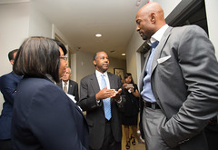 Tour of Courtside Family Apartments Miami, Florida (U.S. Dept. of Housing and Urban Development (HUD)) Tags: alonzomouring ben candy carson courtsidefamilyapartments miami sammymayojr tour florida housing secretary sohud