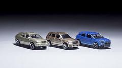 Majorette Mitsubishi ASX, Lexus RX400h and Maisto Mercedes - Benz GLK 350 (nirmala_l91) Tags: majorette mitsubishi lexus mercedesbenz maisto diecast