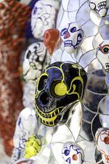 Calaca (giolor89) Tags: dinodeitarocchi tarocchi giardino parco ceramica ceramic glass vetro reflections capalbio toscana tuscany italia italy colours colori splash giardinodeitarocchi porcelain porcellana tarot mexican style calaca