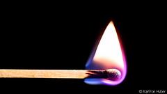 Match Stick #7193 (www.karltonhuberphotography.com) Tags: 2017 abstract burning closeup colorful fire flame heat horizontalimage hot karltonhuber light macro match matchstick tip woodenmatch