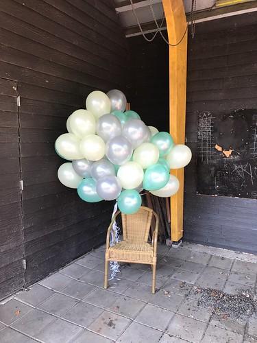 Heliumballonnen Restaurant Knus Delft